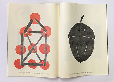 "Sven Märkisch, ""o baum"", Blockheftung, Puzzleprint, 2018"
